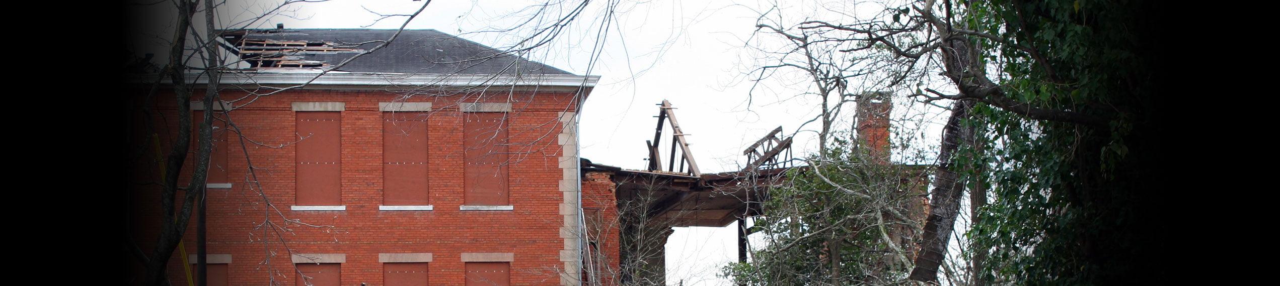 Wind & Storm Damage Repairs in Paul Davis Restoration of Ocean & Monmouth Counties